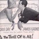 "1963 ""The Thrill of it All!""  w. Doris Day  movie ad (# 2498)"
