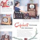 Dec. 1949  Capehart Television   ad (# 4)