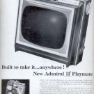 """1963 Admiral  11"""" Playmate TV    ad (# 5339)"""