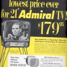 1954   Admiral TV  ad (# 5150)