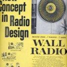 1960   Toshiba Wall Radio  ad (# 4542)
