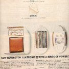 1962  Remington Lektronic II shaver ad (# 2084)