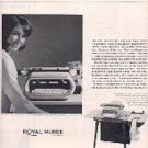 1965  Royal McBee Corporation Electric Typewriter ad (# 3168)