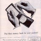 1944  United States War Message ad (# 2680)