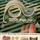 1962  Scotch Magic tape ad ( # 1657)