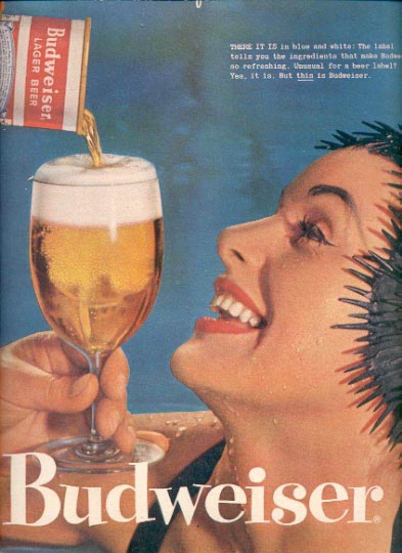 1957   Budweiser Beer   ad (# 4912)