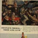 1952 Budweiser Beer ad (# 792)