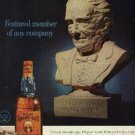 1961 Old Grand-Dad Kentucky Straight Bourbon ad (#  1182)