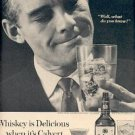 1962 Calvert Reserve American Blended Whiskey ad (#  2356)