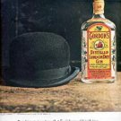 1962  Gordon's Gin ad ( # 1476)