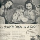 March 3, 1947  Clapp's Baby Foods  ad (#6151)