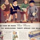 March 22, 1937     Nucoa Margarine       ad  (#6545)