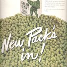 Sept. 16, 1946         Green Giant Sweet Peas   ad  (#1133)