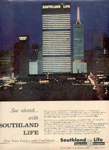 1961  Southland Life Insurance Company  ad (#  2610)