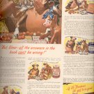March 13, 1944  Borden's with Elmer and Elsie  ad (# 397)