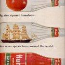 1964  Hunt's catsup     ad (#5946)