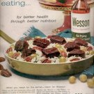 1960  Wesson vegetable oil    ad (#5859)