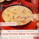 1960   Campbell's Scotch Broth Soup  ad (#5850)