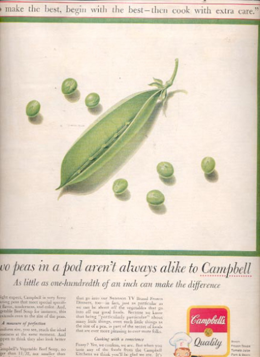 1960  Campbell quality products   ad (#5498)