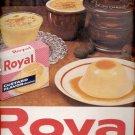 1960- Royal Custard flavor dessert  ad (#5732)