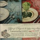 1957  Colonial Heritage in Libbey Crystal ad (# 1149)
