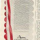 1942  Avon cosmetics      ad ( # 1953)