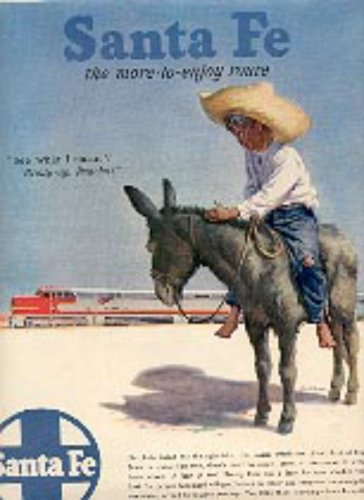 1947 Santa Fe System Lines ad ( # 2799)