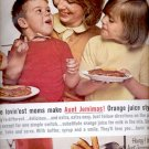 1964  Aunt Jemima Pancake and waffle mix   ad (#5663)