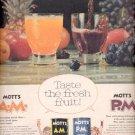 1960 Mott's Fruit Drink   ad (#5453)