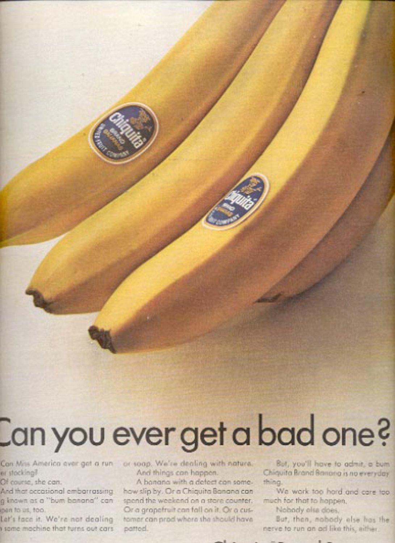 1967 Chiquita Brand Bananas   ad (#5450)