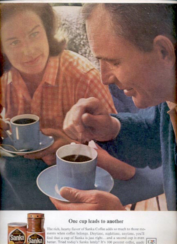 1964  Sanka Coffee  ad (#5390)
