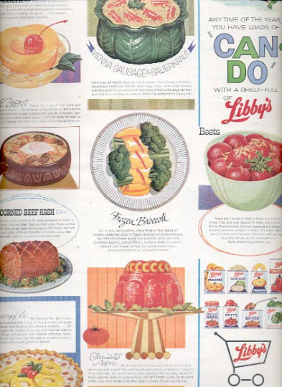 1964    Libby's Foods  ad (# 4893)