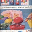 1957  McCormick-Schilling Food Colors  ad (# 5012)