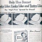 1957  Blue Bonnet Margarine  ad (# 4728)