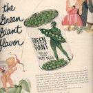 1957  Green Giant Peas  ad (# 4989)