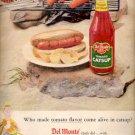 1957  Del Monte Tomato Catsup ad (# 4672)