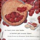 1957  Swanson Frozen Fruit Pies  ad (# 4956)