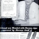 1939  White Owl blended with Havana cigar    ad (#5952)