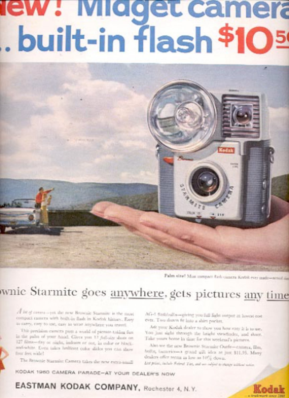 1960 Eastman Kodak Company Midget camera  ad (#5444)
