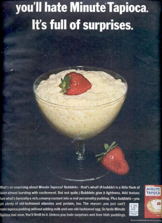 1964  General Foods Minute Tapioca  ad (# 4901)