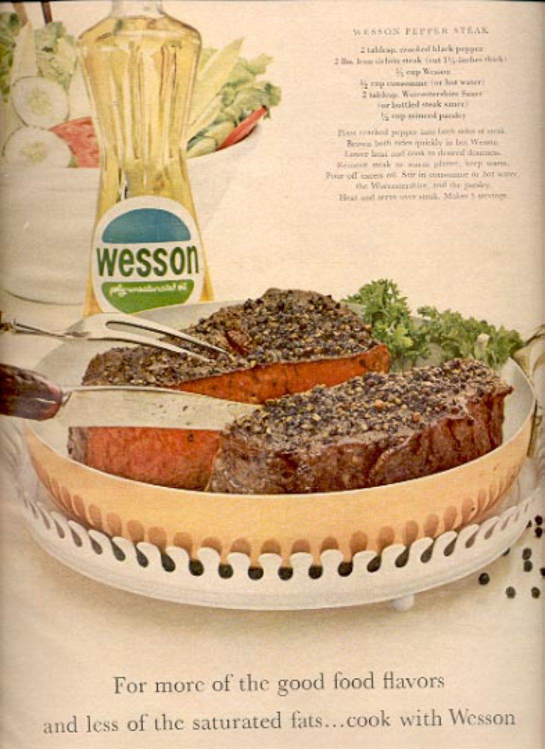 1964 Wesson Oil ad (# 4897)