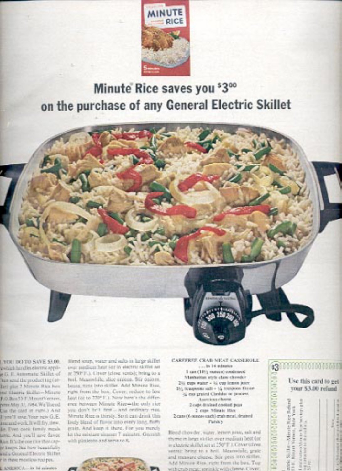 1964    Minute Rice   ad (# 4895)