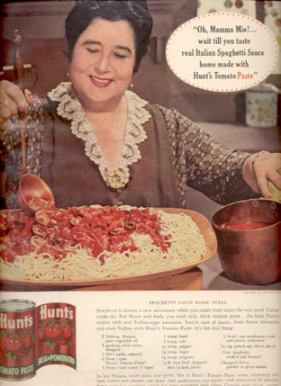 1964   Hunt's Tomato Paste  ad (# 4882)