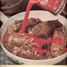 1964   Hunt's  Tomato Sauce  ad (# 4881)