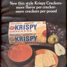 1964  Sunshine Krispy Crackers  ad (# 4870)