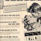 1952 Listerine Antiseptic     ad (# 2470)