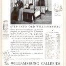 1937    The Williamsburg Galleries  ad (#4172)