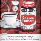 1957    Instant Chase & Sanborn Coffee   ad (# 4701)