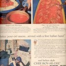 1957  Chef Boy-Ar-Dee Sauces  ad (# 4649)