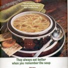 1964 - Campbell's Beef Noodle Soup  ad (# 4498)